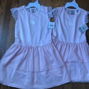 Carter's Pink Sleepwear/dress with white  bunny